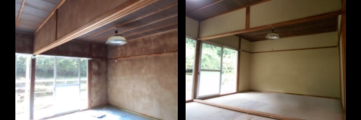 室内塗り替え